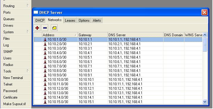 Clique na imagem para uma versão maior  Nome:         Server DHCP --- Networks.JPG Visualizações:137 Tamanho: 65,6 KB ID:      11459