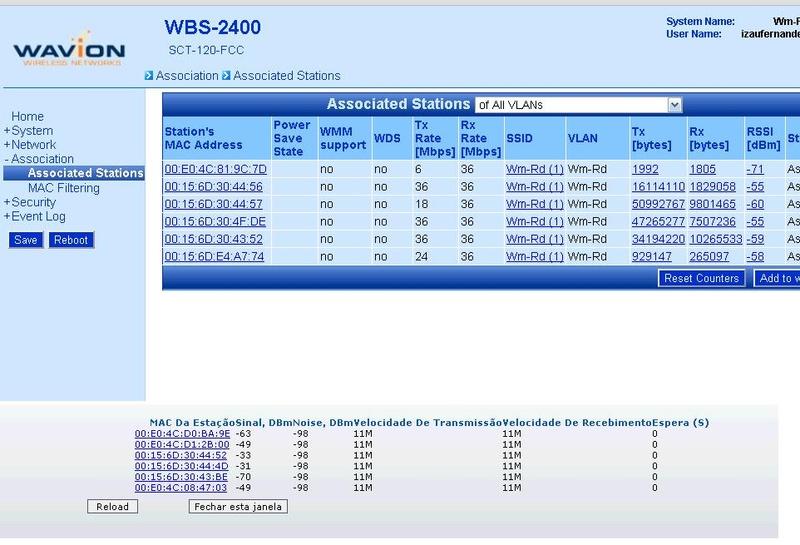 Clique na imagem para uma versão maior  Nome:         Sinal nos Clientes Wavion x Nano.jpg Visualizações:166 Tamanho: 129,0 KB ID:      18471