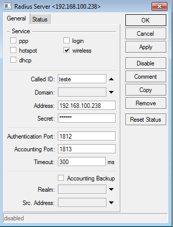 Clique na imagem para uma versão maior  Nome:         radius server.PNG Visualizações:84 Tamanho: 18,4 KB ID:      19644