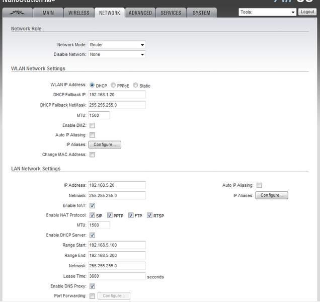 Clique na imagem para uma versão maior  Nome:         config rede ubnt.jpg Visualizações:208 Tamanho: 26,3 KB ID:      19952