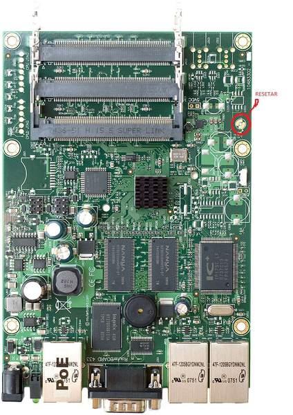 Clique na imagem para uma versão maior  Nome:         RB 433 ROUTERBOARD.jpg Visualizações:85 Tamanho: 60,8 KB ID:      20562