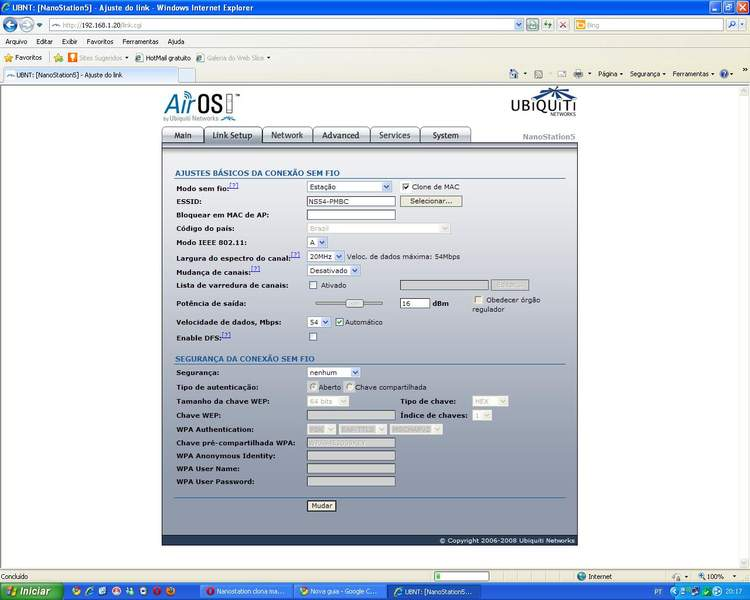 Clique na imagem para uma versão maior  Nome:         link setup.jpg Visualizações:245 Tamanho: 45,1 KB ID:      21146