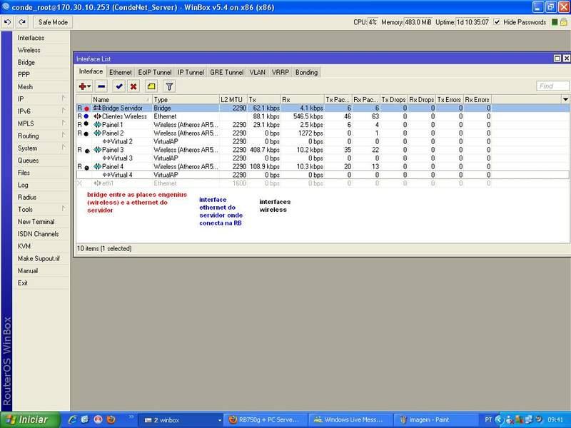 Clique na imagem para uma versão maior  Nome:         interface list servidor.jpg Visualizações:26 Tamanho: 55,6 KB ID:      24160