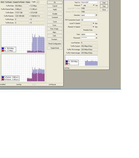 Clique na imagem para uma versão maior  Nome:         TRAFEGO ENVIADO + TESTE DE BANDA.jpg Visualizações:139 Tamanho: 24,6 KB ID:      24731
