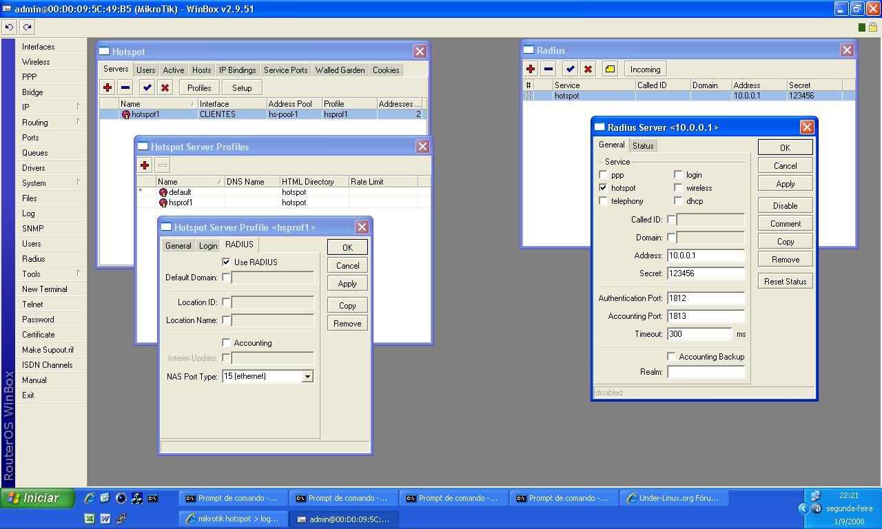 Clique na imagem para uma versão maior  Nome:         config mkt 2.9.51.JPG Visualizações:464 Tamanho: 140,2 KB ID:      2634