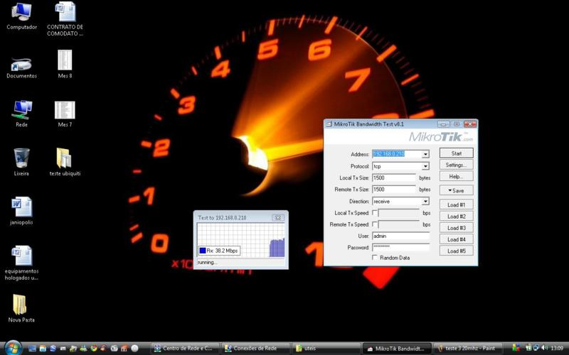 Clique na imagem para uma versão maior  Nome:         teste TCP em 20MHz.jpg Visualizações:162 Tamanho: 38,1 KB ID:      26777
