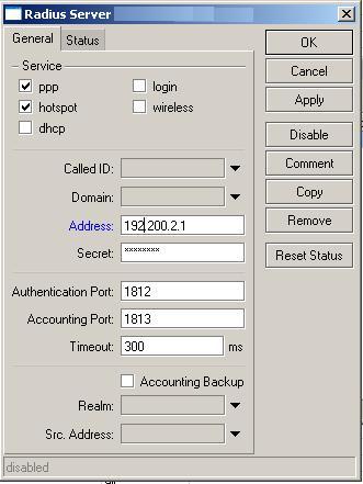 Clique na imagem para uma versão maior  Nome:         radius mikrotik.JPG Visualizações:135 Tamanho: 27,2 KB ID:      28821