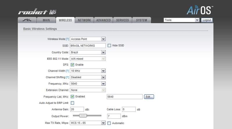 Clique na imagem para uma versão maior  Nome:         Rocket M5 setup Wireless.jpg Visualizações:200 Tamanho: 24,2 KB ID:      29713