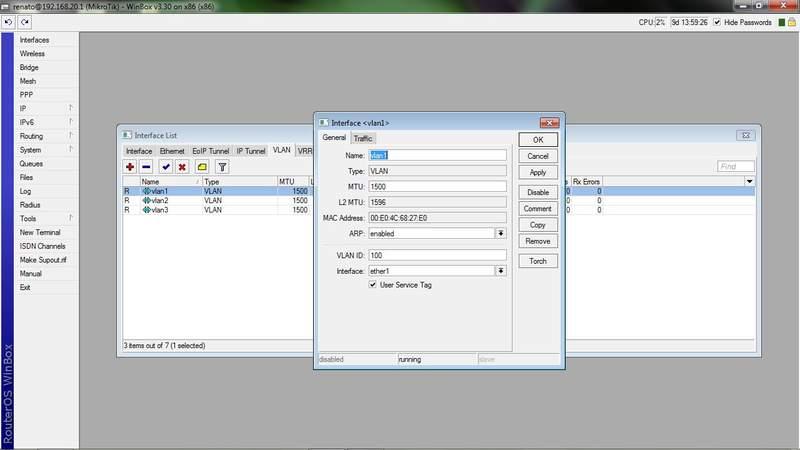 Clique na imagem para uma versão maior  Nome:         vlanmikrotik.jpg Visualizações:531 Tamanho: 31,1 KB ID:      37797