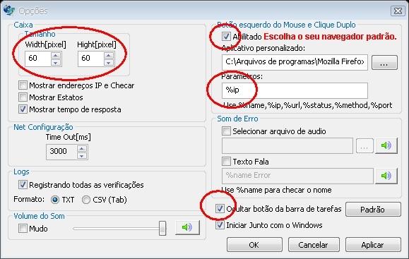Clique na imagem para uma versão maior  Nome:         Opções do Programa.jpg Visualizações:695 Tamanho: 103,0 KB ID:      38908