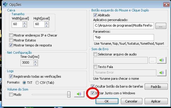 Clique na imagem para uma versão maior  Nome:         IP_Monitor_Iniciar.jpg Visualizações:237 Tamanho: 46,5 KB ID:      41095