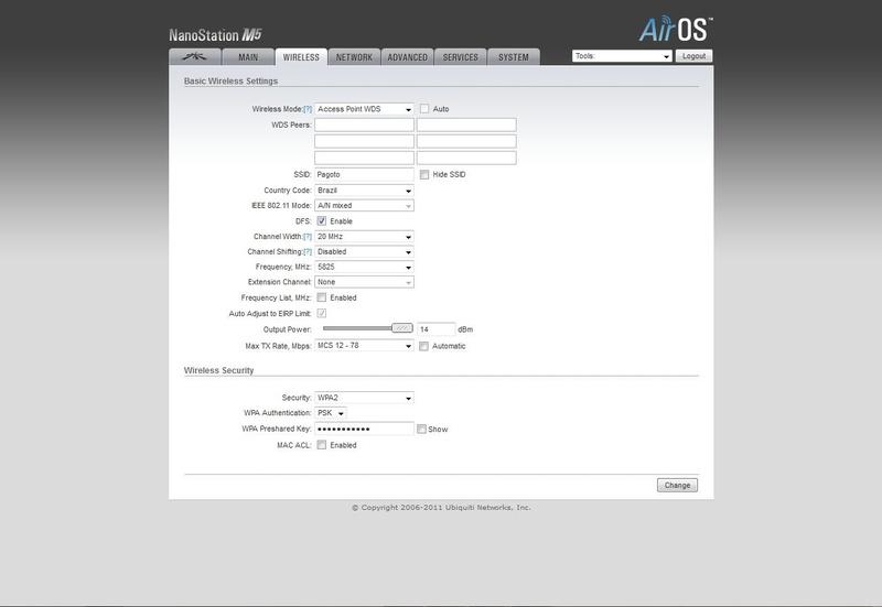 Clique na imagem para uma versão maior  Nome:         NanoStation - ABA WIRELESS.jpg Visualizações:192 Tamanho: 48,3 KB ID:      41208