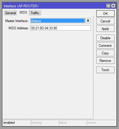 Clique na imagem para uma versão maior  Nome:         wds com mac do aprouter.png Visualizações:42 Tamanho: 10,2 KB ID:      41623