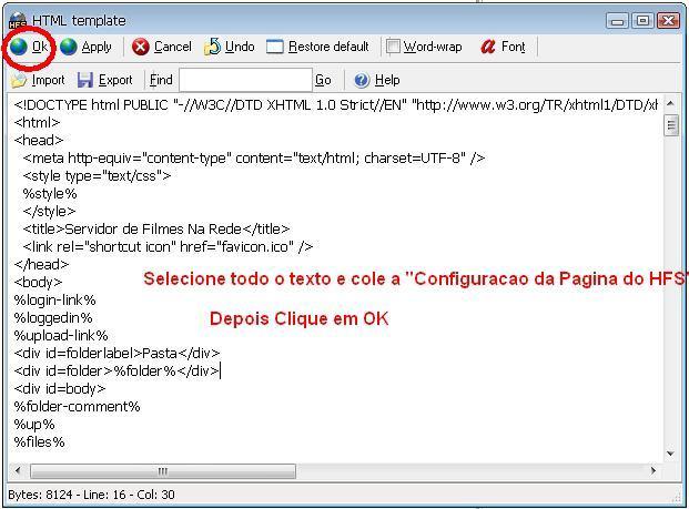 Clique na imagem para uma versão maior  Nome:         HFS_Configuracao_da_pagina.jpg Visualizações:635 Tamanho: 54,4 KB ID:      42122