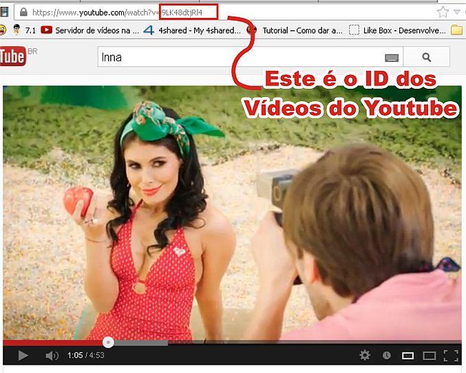 Clique na imagem para uma versão maior  Nome:         ID Dos Vídeos do Youtube.jpg Visualizações:428 Tamanho: 72,2 KB ID:      42126