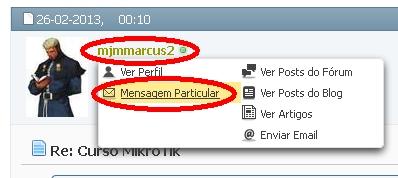 Clique na imagem para uma versão maior  Nome:         Mensagem Particular.jpg Visualizações:78 Tamanho: 37,5 KB ID:      43042