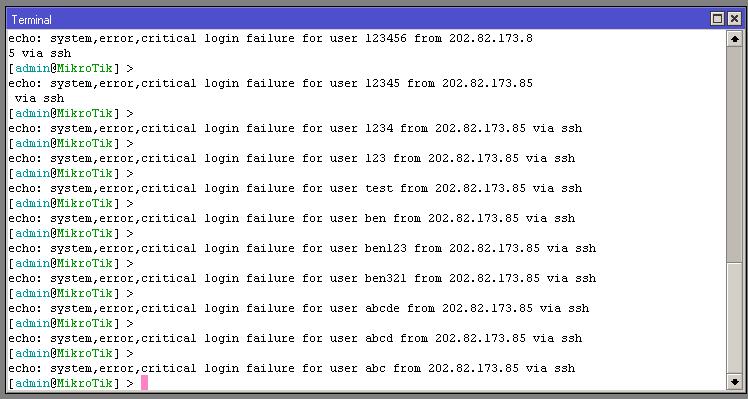 Clique na imagem para uma versão maior  Nome:         ERRO NO SSH.PNG Visualizações:49 Tamanho: 24,0 KB ID:      43423