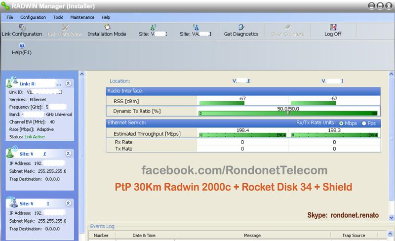 Clique na imagem para uma versão maior  Nome:         PtP 30km Radwin 2000c.jpg Visualizações:214 Tamanho: 145,3 KB ID:      44618