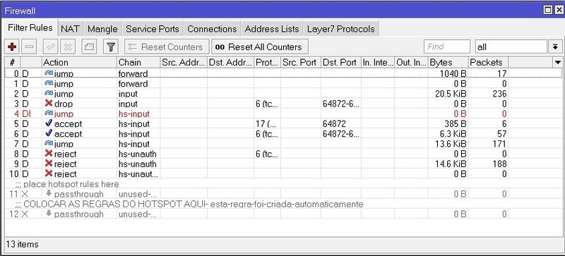 Clique na imagem para uma versão maior  Nome:         ITEM_1_RB1100AHx2_FIREWALL_FILTER_RULES.jpg Visualizações:35 Tamanho: 95,6 KB ID:      47426