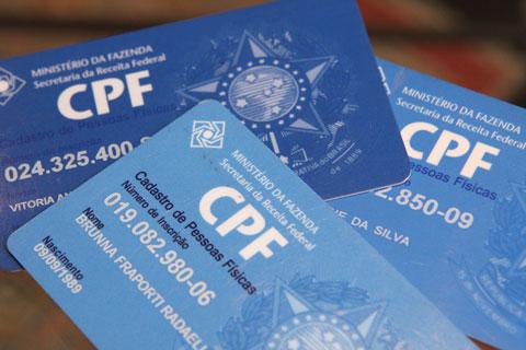 2ª Via CPF CADASTRO DE PESSOA FÍSICA SOLCITAÇÕES VIA CELULAR E OUTROS