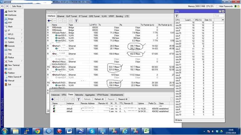 Clique na imagem para uma versão maior  Nome:         Ccr BGP mais de 700Mbps FullR.jpg Visualizações:317 Tamanho: 56,5 KB ID:      50812