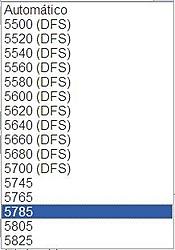 Clique na imagem para uma versão maior  Nome:         Canais Nanostation M5 - 20Mhz.JPG Visualizações:188 Tamanho: 14,6 KB ID:      52012