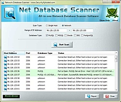 Liberado Network Database Scanner 2.0