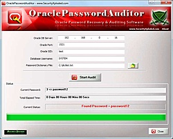 Lançado Oracle Password Auditor 2.5