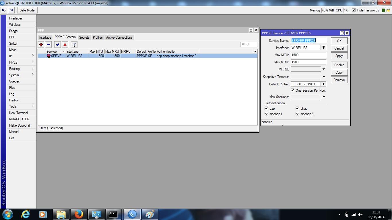 Clique na imagem para uma versão maior  Nome:         pppoe service.jpg Visualizações:60 Tamanho: 157,2 KB ID:      53636