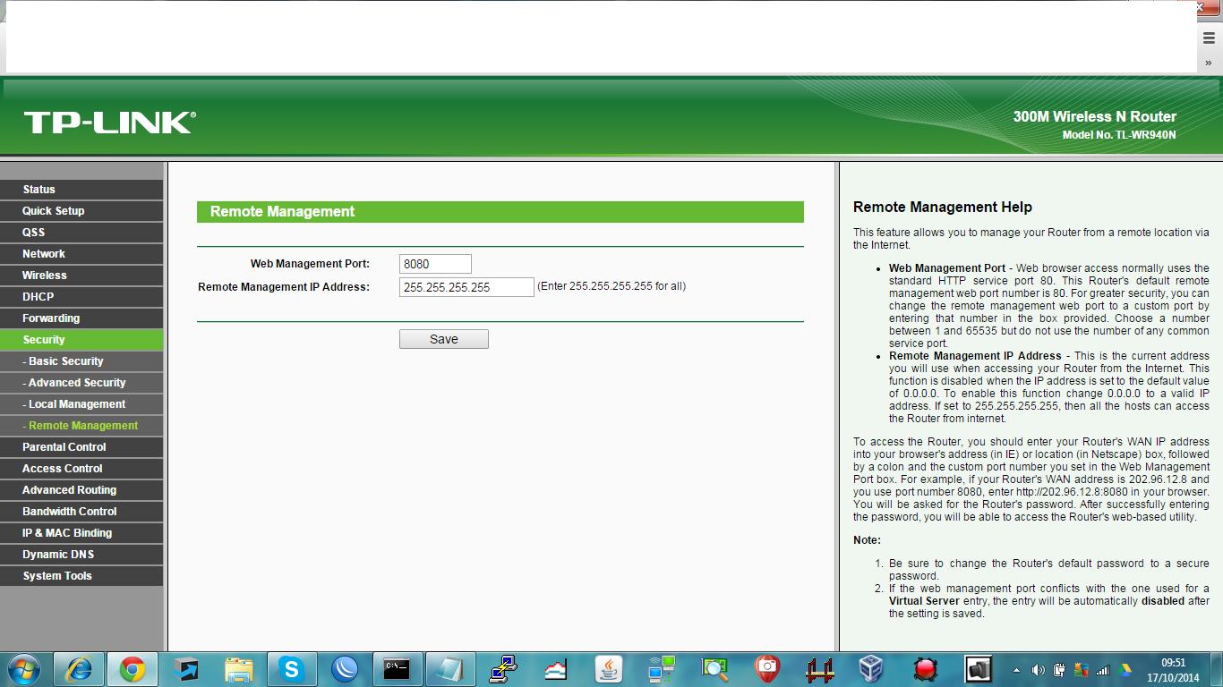 Clique na imagem para uma versão maior  Nome:         Acesso remoto TP-Link.png Visualizações:260 Tamanho: 261,1 KB ID:      55328
