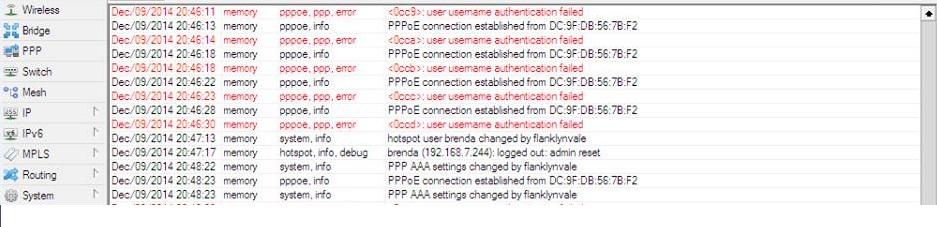 Clique na imagem para uma versão maior  Nome:         um mac tentando conectar por ppoe varias tentativas e continua o dia todo.jpg Visualizações:100 Tamanho: 89,6 KB ID:      56243