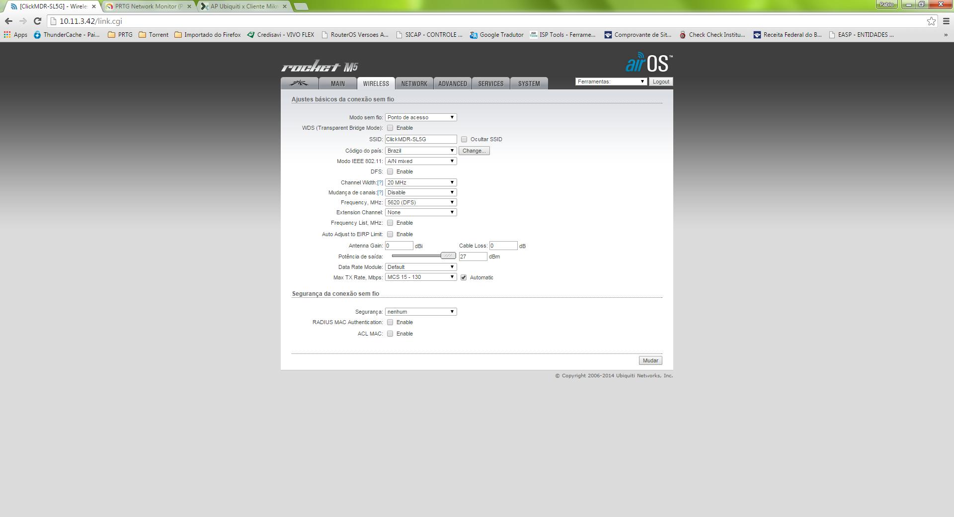 Clique na imagem para uma versão maior  Nome:         ConfigAP.png Visualizações:303 Tamanho: 146,8 KB ID:      58580