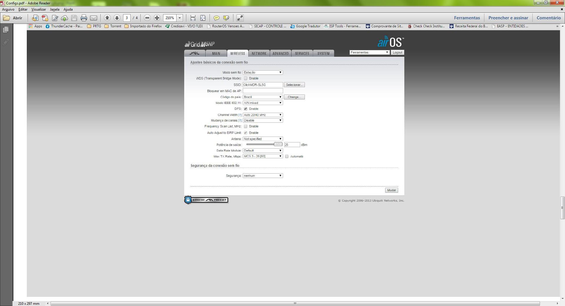 Clique na imagem para uma versão maior  Nome:         Airgrid Config.png Visualizações:360 Tamanho: 323,7 KB ID:      58608