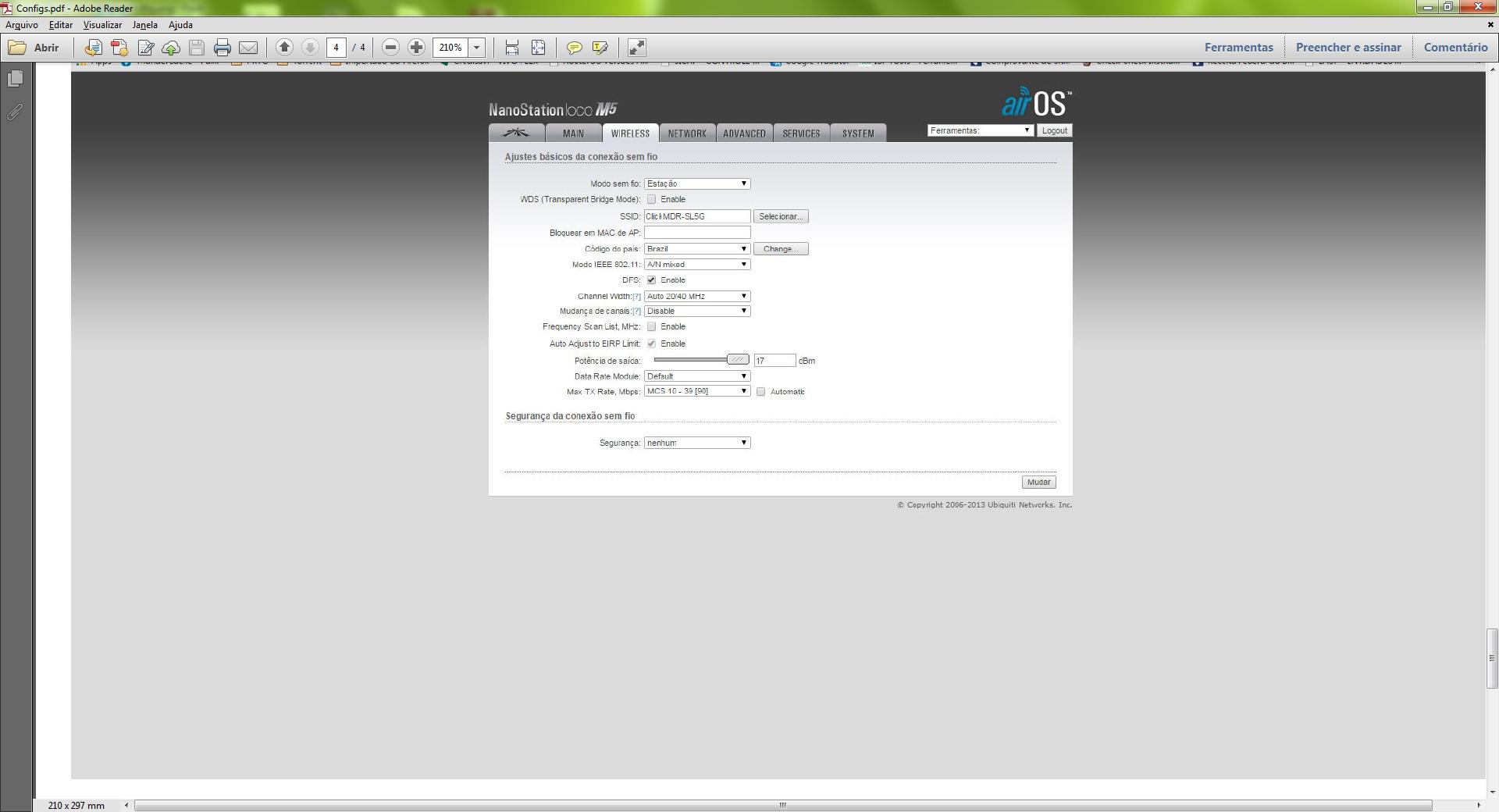 Clique na imagem para uma versão maior  Nome:         NanoL Config.png Visualizações:214 Tamanho: 277,1 KB ID:      58611