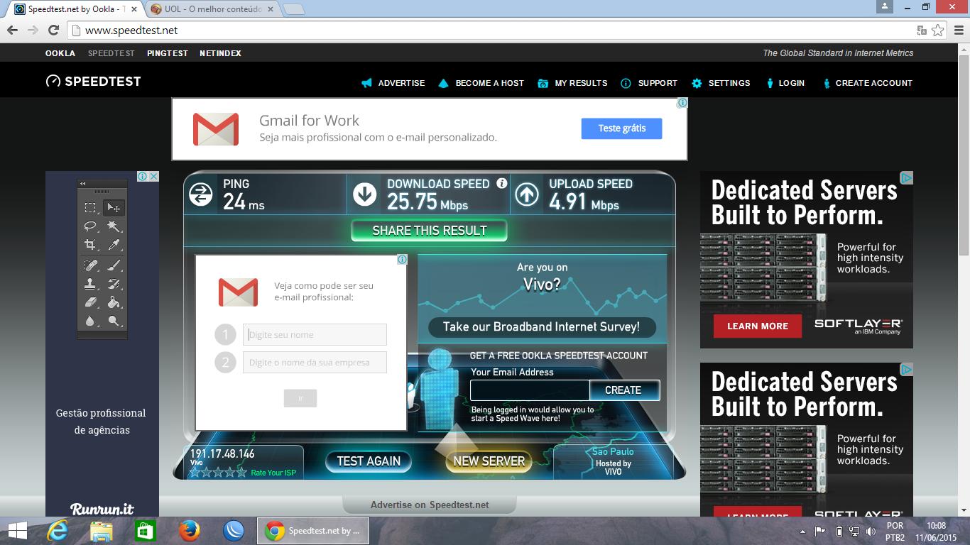 Clique na imagem para uma versão maior  Nome:         SpeedTest2.png Visualizações:600 Tamanho: 609,7 KB ID:      59640