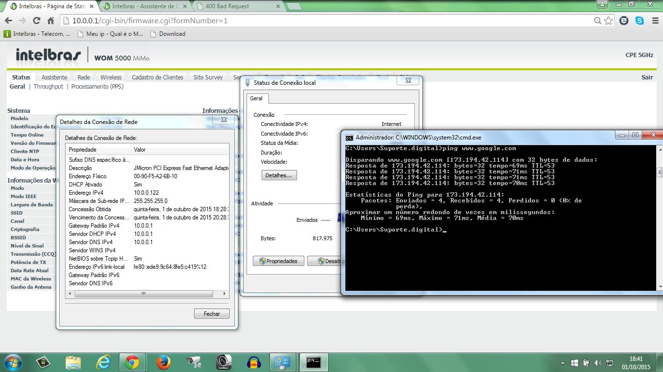 wom 5000 firmware versão 8.5 cliente