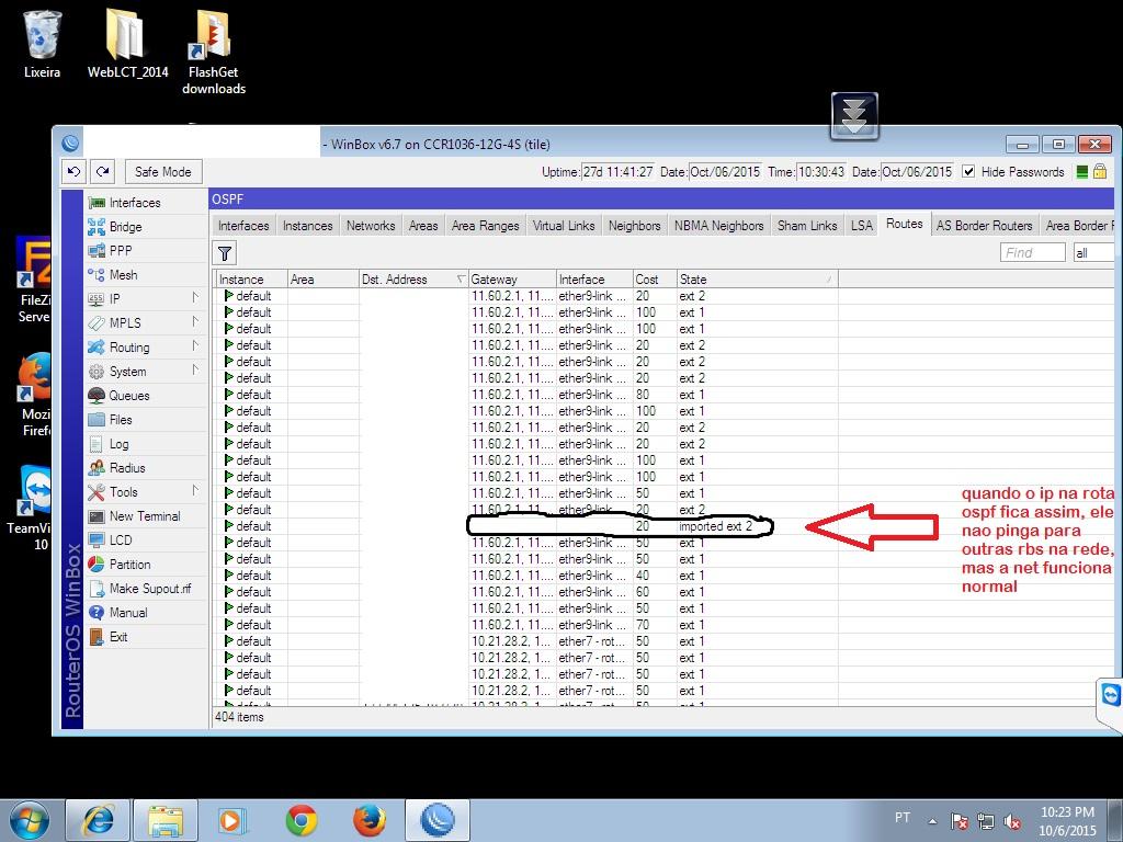 Clique na imagem para uma versão maior  Nome:         problema no ospf.jpg Visualizações:162 Tamanho: 251,7 KB ID:      61240