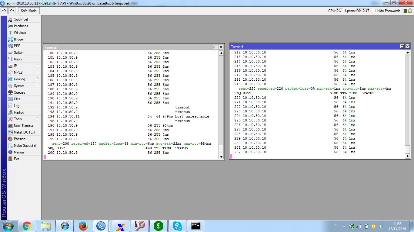 Clique na imagem para uma versão maior  Nome:         1º teste 10.10.50.9.png Visualizações:59 Tamanho: 133,8 KB ID:      61637
