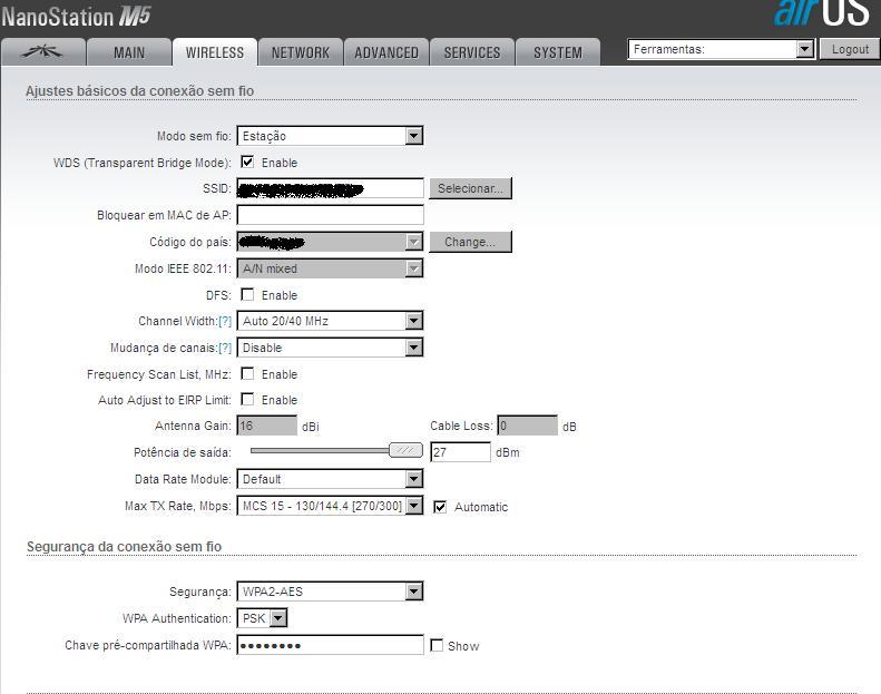 Clique na imagem para uma versão maior  Nome:         Station wireless.JPG Visualizações:41 Tamanho: 56,4 KB ID:      62500