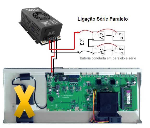 Clique na imagem para uma versão maior  Nome:         Ligação Bateria x RB1100.PNG Visualizações:504 Tamanho: 403,6 KB ID:      62632