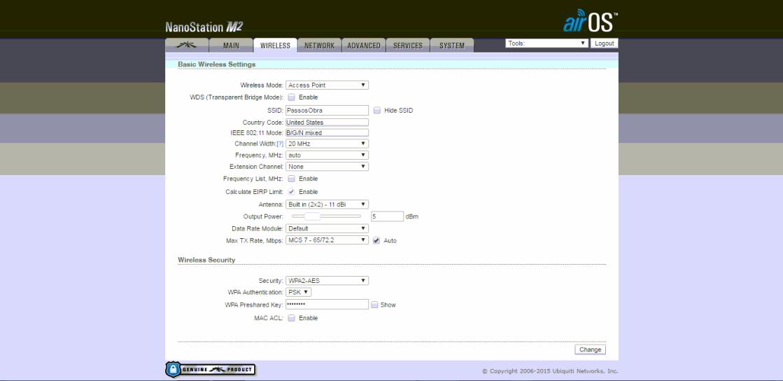 Clique na imagem para uma versão maior  Nome:         UBNT3.PNG Visualizações:56 Tamanho: 84,0 KB ID:      63760