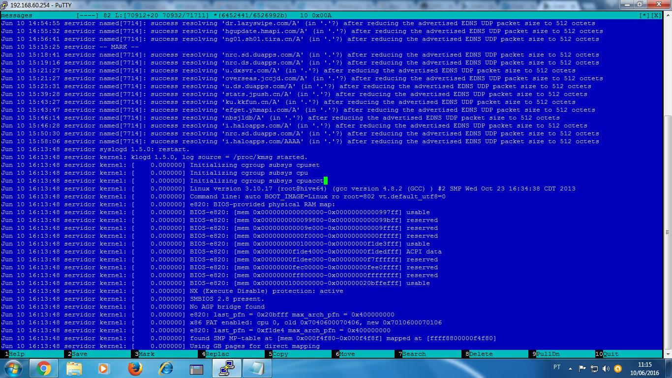 Clique na imagem para uma versão maior  Nome:         Log do Sistema.png Visualizações:47 Tamanho: 242,1 KB ID:      64190