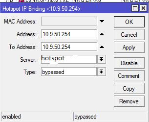 Clique na imagem para uma versão maior  Nome:         ip bindings ap.PNG Visualizações:23 Tamanho: 9,6 KB ID:      64596