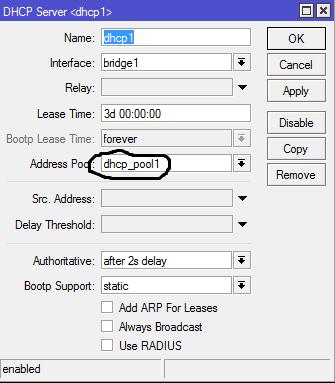 Clique na imagem para uma versão maior  Nome:         DHCP SERVER.png Visualizações:27 Tamanho: 10,2 KB ID:      65031