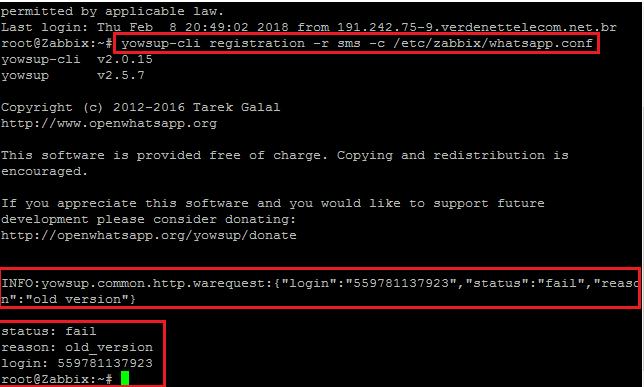 Clique na imagem para uma versão maior  Nome:         erro sms whatsapp zabbix.png Visualizações:82 Tamanho: 17,4 KB ID:      68173