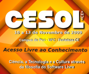 Banner do CESoL-CE 2009