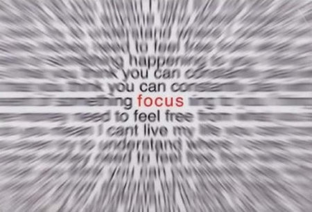 Mantenha o foco sempre! Isso vale pra toda a sua vida. Sempre que for fazer algo, mantenha o foco e n%u00E3o se perca nas cosias. Se n%u00E3o nada fica pronto, nunca!