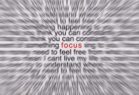 Mantenha o foco sempre! Isso vale pra toda a sua vida. Sempre que for fazer algo, mantenha o foco e n%u00E3o se perca nas cosias. Se não nada fica pronto, nunca!