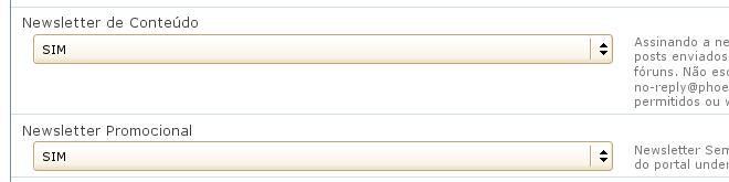 Ambas as op%u00E7%u00F5es de recebimento de Newsletter do Under-Linux j%u00E1 est%u00E3o ativas para a conta do usu%u00E1rio.