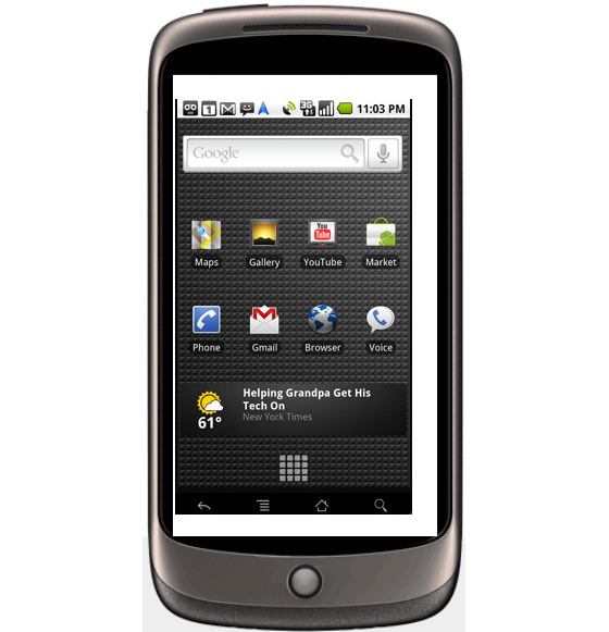 Google Nexus One Android...